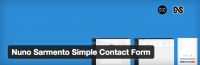 NS WordPress Plugin Simple Contact Form