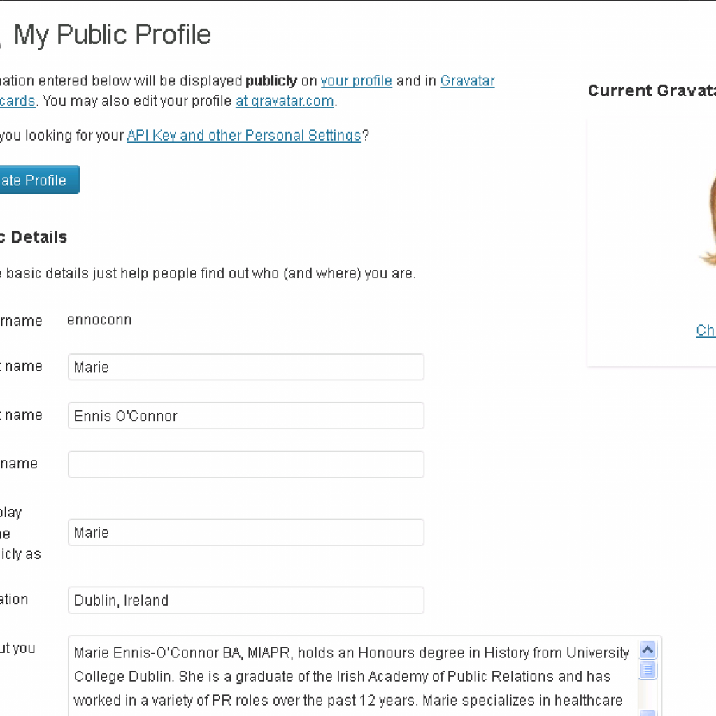 Add Extra Fields to User Profile Page