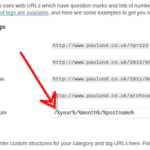 Proper URLs
