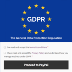 GDPR WooCommerce custom privacy policy checkbox