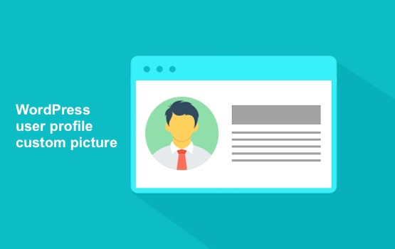 WordPress user profile custom picture